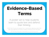 Evidence-Based Terms Poster Set