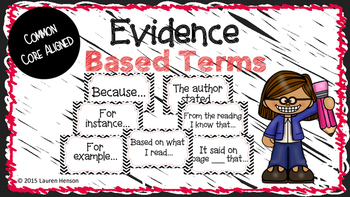 Evidence Based Terms Poster Set
