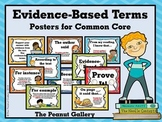 Evidence-Based Terms Posters for Common Core