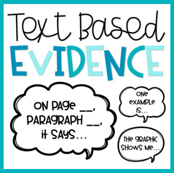Evidence Based Text Stems
