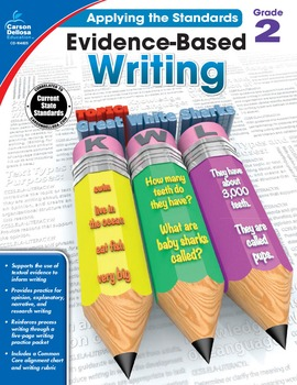 Evidence Based Writing Grade 2 SALE 20% OFF! 104825