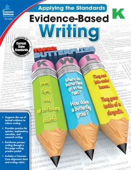 Evidence Based Writing Grade K SALE 20% OFF! 104823