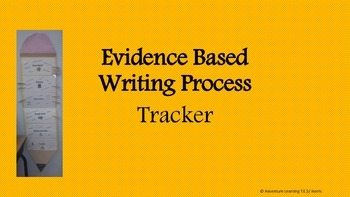 Evidence Based Writing Process Tracker