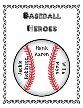 Common Core/PARCC Writing Prompt:  Baseball Heroes