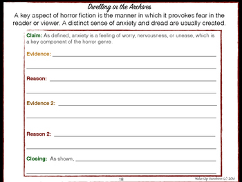 Evidence Based Writing with Horror Fiction - Amnesia