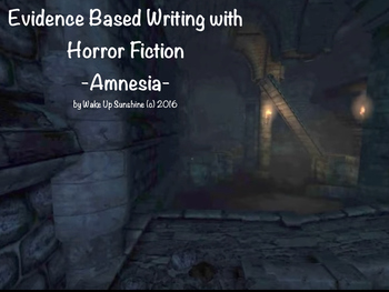 Evidence Based Writing with Horror Fiction - Amnesia