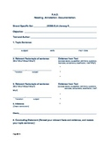 CCSS Evidence - Based Writing/Reading.Annotations.Document