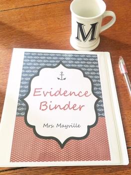 Nautical Evidence Binder