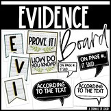 Evidence Board Posters - Farmhouse Style - White Shiplap