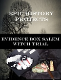 Evidence Box Salem Witch Trial Project