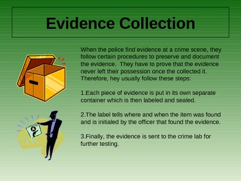 Evidence Collection PowerPoint