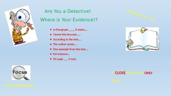 Evidence Detectives!