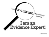 Evidence Expert- Supporting Your Answers- Comprehension