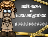 Evidence & Investigation: Fingerprints: Posters, Lessons, Labs and More
