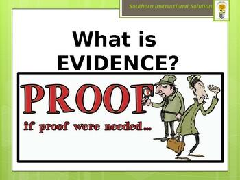 Evidence Powerpoint
