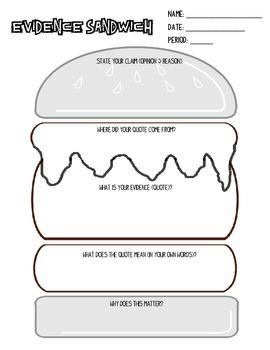 Evidence Sandwich