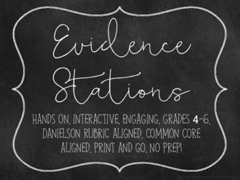 Evidence Stations
