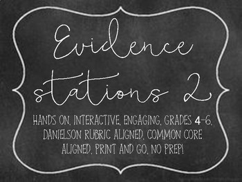 Evidence Stations 2