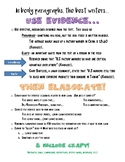 Evidence and Elaboration Resource Argument Writing