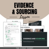 Evidence and Sourcing - Document-Based Historical Thinking Lesson