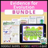 Evidence for Evolution Bundle - Digital Learning