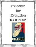 Evidence for Evolution Guided Notes