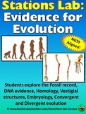 Evidence for Evolution Station Lab: NGSS Aligned