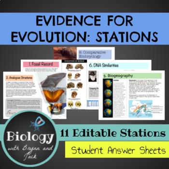 Evidence for Evolution: Stations