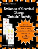 "Evidence of Chemical Change ""Cutable"" Activity"