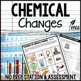 Evidence of Chemical Changes Science Center and Assessment