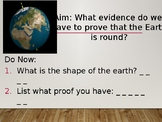 Evidence of Earth's Shape PPT
