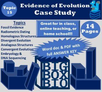 Evidence of Evolution Case Study