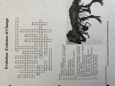 Evidence of Evolution Crossword Puzzle