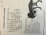 Evidence of Evolution Crossword Puzzle (Key)