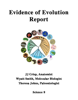 Evidence of Evolution Report - Technical Writing - Collaborative Project