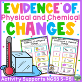 Evidence of Physical and Chemical Changes Activity