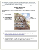 Evidences of Evolution Vocabulary Build Up Activity (7A)