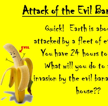 Evil Bananas Writing Prompt