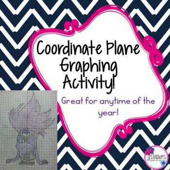 Coordinate Graphing Picture Great for the End of the Year