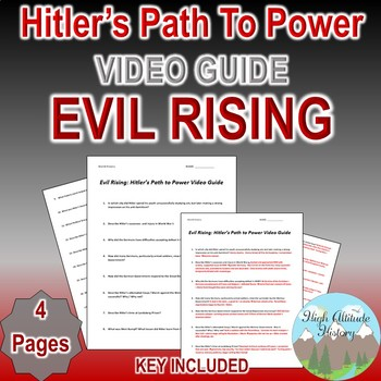 Evil Rising Hitler's Path to Power Video Guide