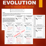 Evolution Adaptation Activity - ENTRANCE AND EXIT SLIP