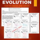 Evolution Adaptation Activity - ENTRANCE AND EXIT SLIP