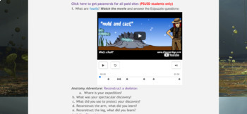 Evolution Adventure Quest with Common Core Standards