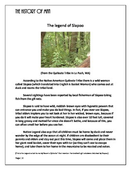 Evolution: Bigfoot Stories
