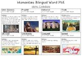 Islamic Civilisations Bilingual Word Bank