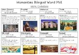 Islamic Civilisations Bilingual Word Bank (with Russian)