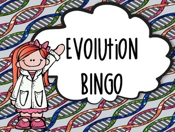Evolution Bingo