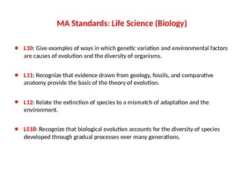 Evolution, Biodiversity & Extinction