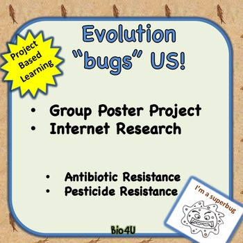 """Evolution """"Bugs"""" US Group Poster Project"""