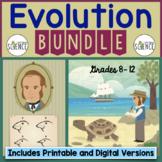 Evolution Bundle   Printable and Digital Distance Learning